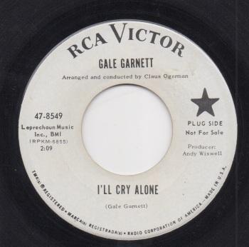 GALE GARNETT - I'LL CRY ALONE