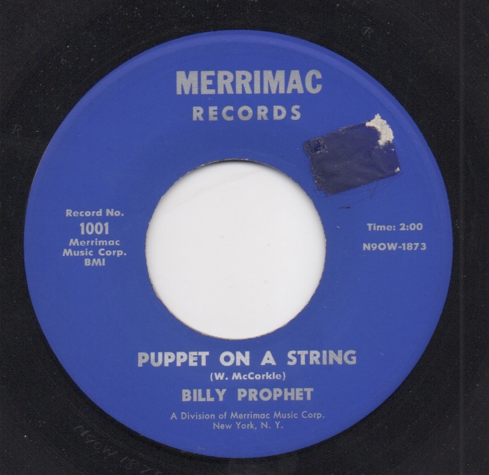 BILLY PROPHET - PUPPET ON A STRING
