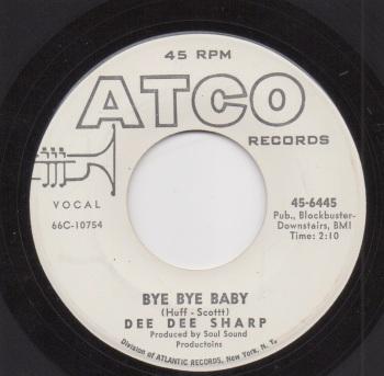 DEE DEE SHARP - BYE BYE BABY
