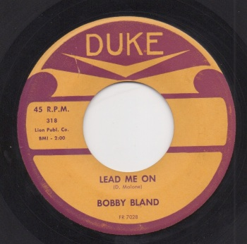 BOBBY BLAND - LEAD ME ON