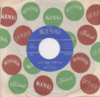 SHIRLEY WAHLS - WHY AM I CRYING / THAT'S HOW LONG (I'M GONNA LOVE YOU)