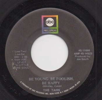 TAMS - BE YOUNG, BE FOOLISH, BE HAPPY