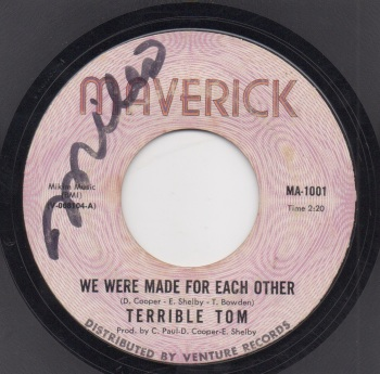 TERRIBLE TOM - WE WERE MADE FOR EACH OTHER