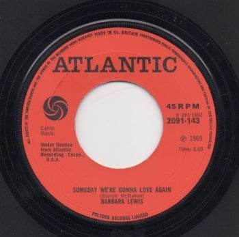BARBARA LEWIS - SOMEDAY WE'RE GONNA LOVE AGAIN / BABY, I'M YOURS