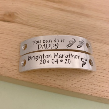 Brighton Marathon Lace Tags For Running Shoes