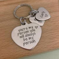 You're My Person, You Will Always Be My Person - Personalised Keyring