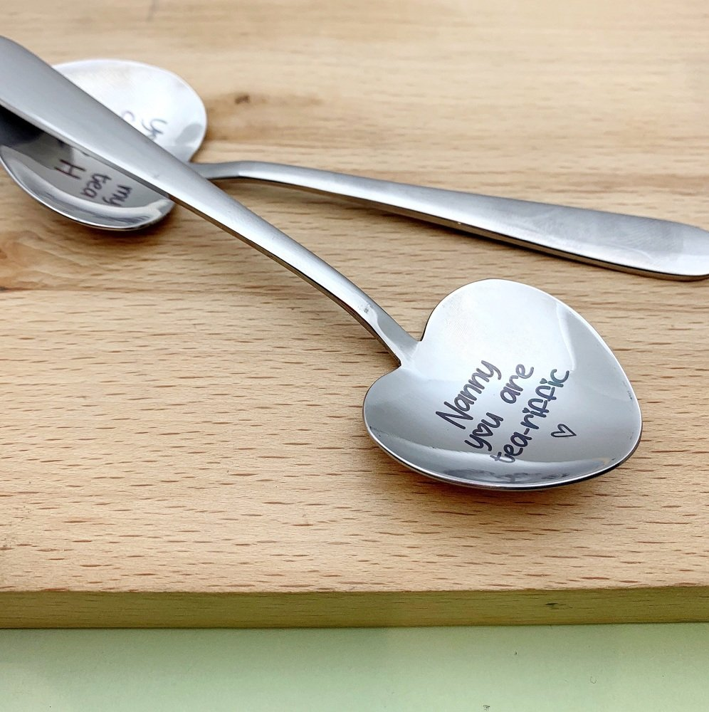 Heart Teaspoon