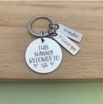 This Nanny Belongs To Keyring - DISC