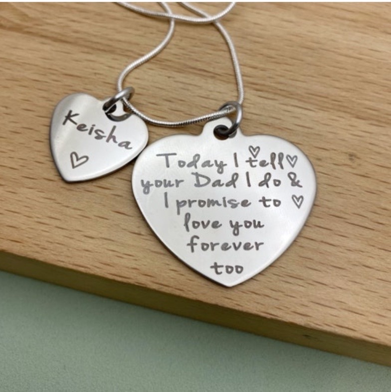 Step Daughter |Girls Name Necklace
