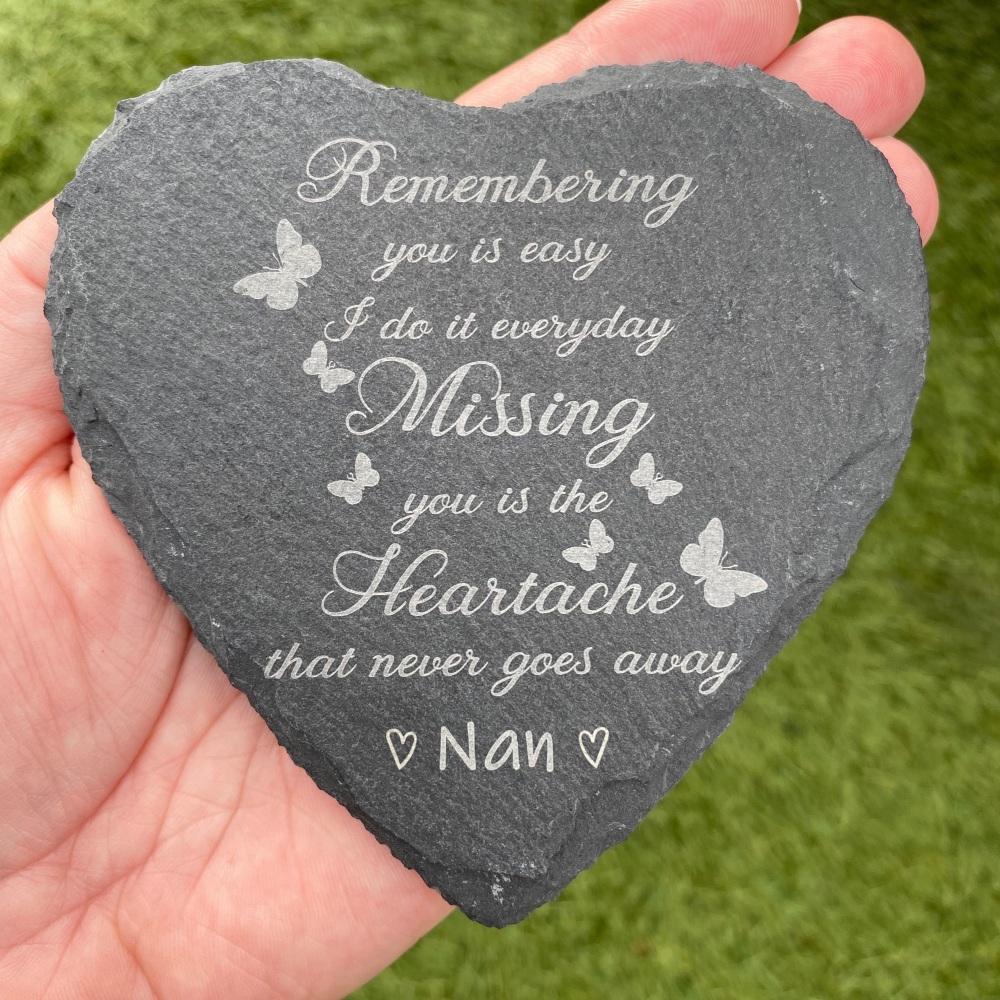 Remembering You Slate Heart