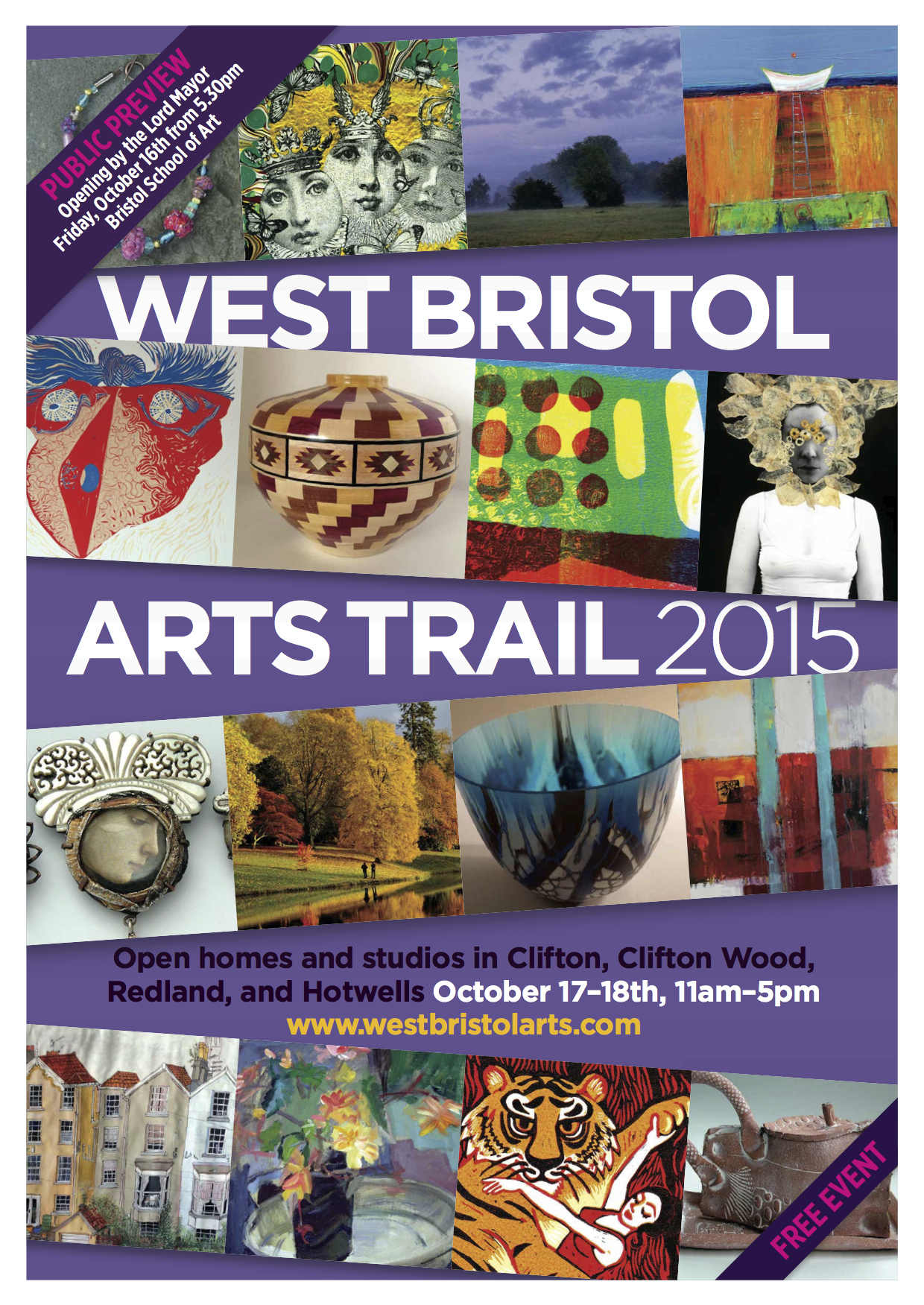 West Bristol Art Trail 2015