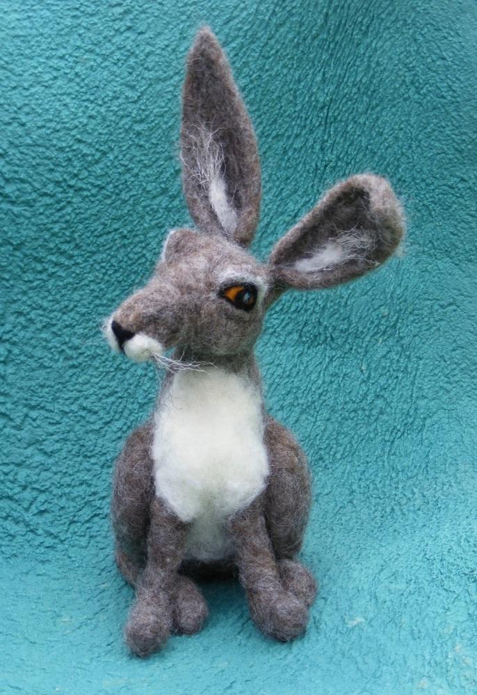 needlefelt Hare, madebyapeach