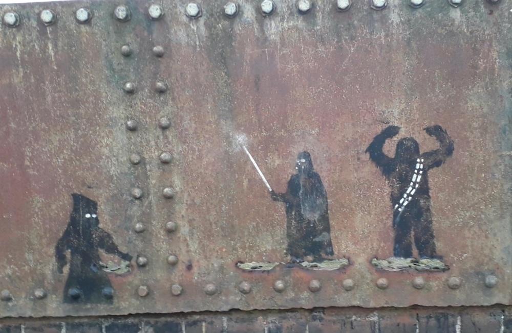 Star Wars grafiti