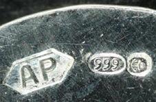 Anitas Hallmark for Fine Silver