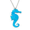 Stripey Seahorse Necklace Anodised Aluminium photo by Paul Mounsey