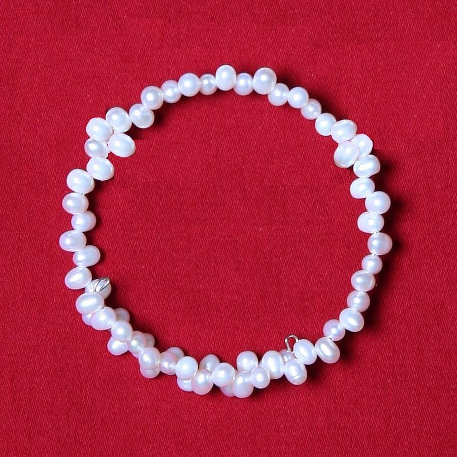 Peral Rice Pearl Bracelet
