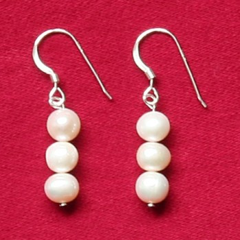 Rosabella - Freshwater Pearl AA Earrings