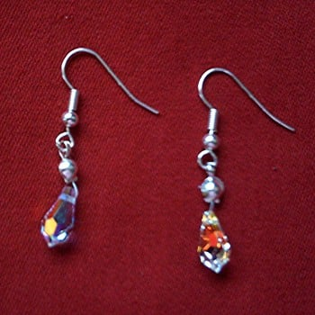 Roberta - Swarovski Crystal Earrings