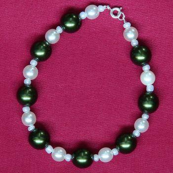 Francesca - Glass Pearl Bracelet