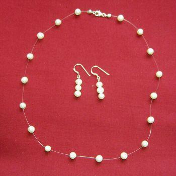 Pearl Illusion Necklace