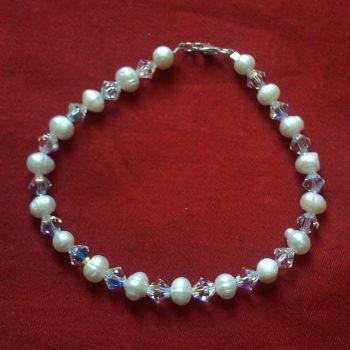 Bibiana - Swarovski Crystal & Freshwater Pearl