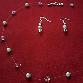 Swarovski & Glass Pearl Illusion Set
