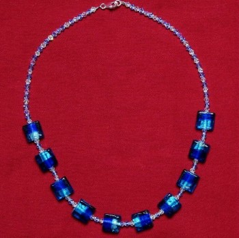 Elizabetta - Swarovski Crystal & Glass Bead Necklace