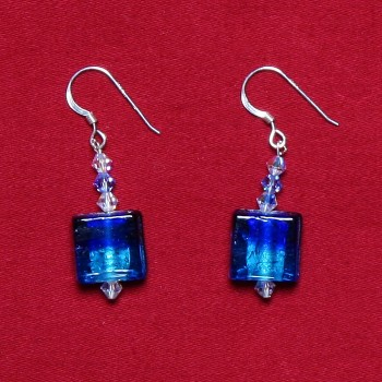 Elizabetta - Swarovski Crystal & Glass Bead Earrings