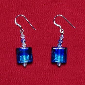 Elizabetta - Swarovski Crystal & Glass Bead Earrings