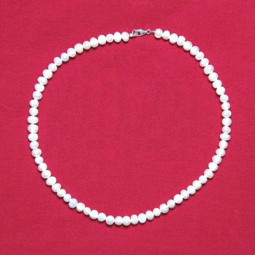 Arabella Freshwater Potato Pearl Necklace