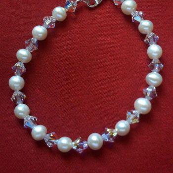 Annetta - Swarovski Crystal & Freshwater Pearls