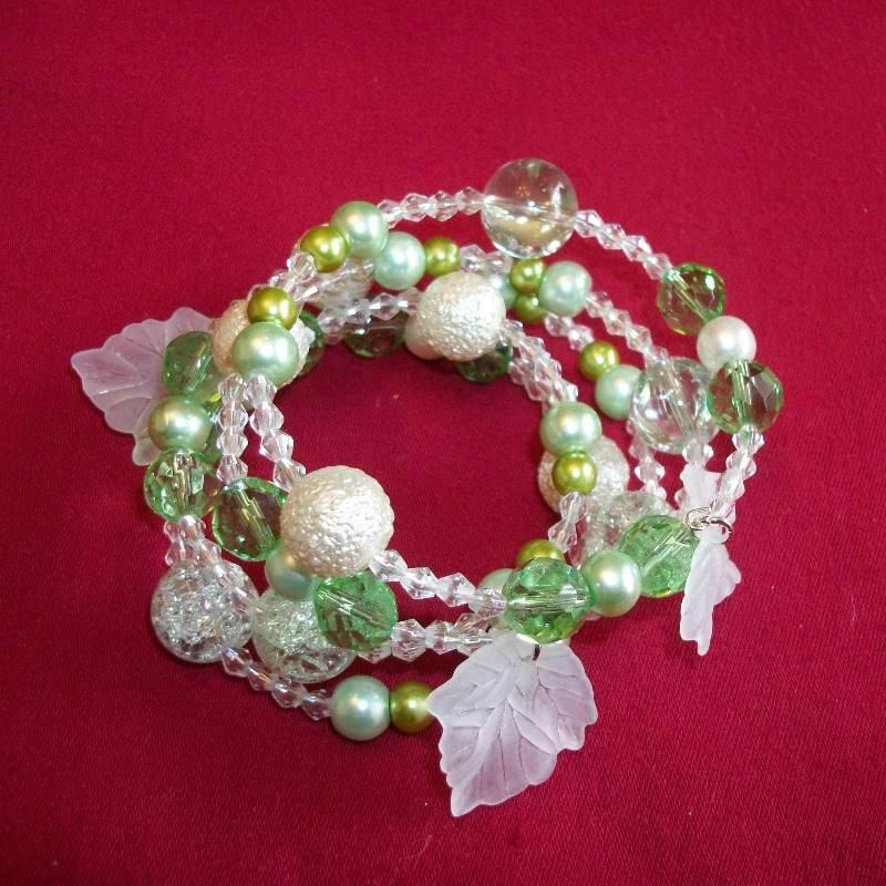 Green Wrap Bracelet