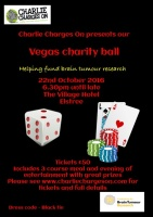 Charity ball ticket
