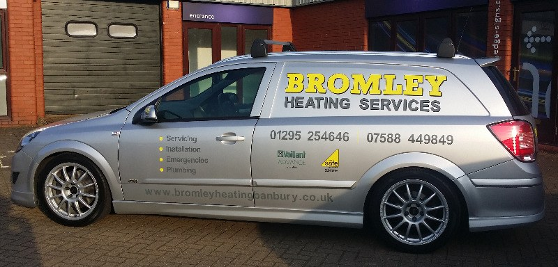 Bromley Heating Services van