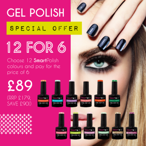 SmartPolish Special Summer Offer 12 for 6