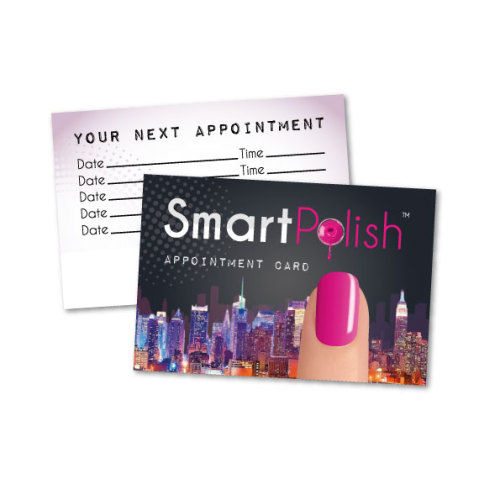 SmartPolish Appointment Cards x 50
