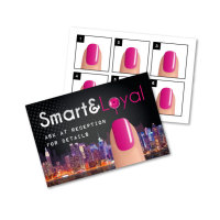 SmartPolish Loyalty Scheme Cards x 50
