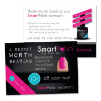 SmartPolish Promotion Cards 10% OFF x 50