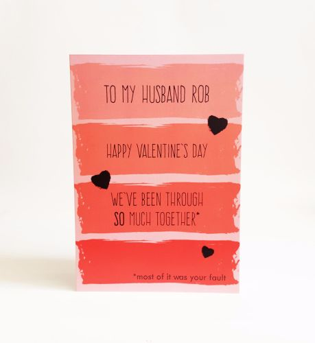 Valentine's Mostly Your Fault Card