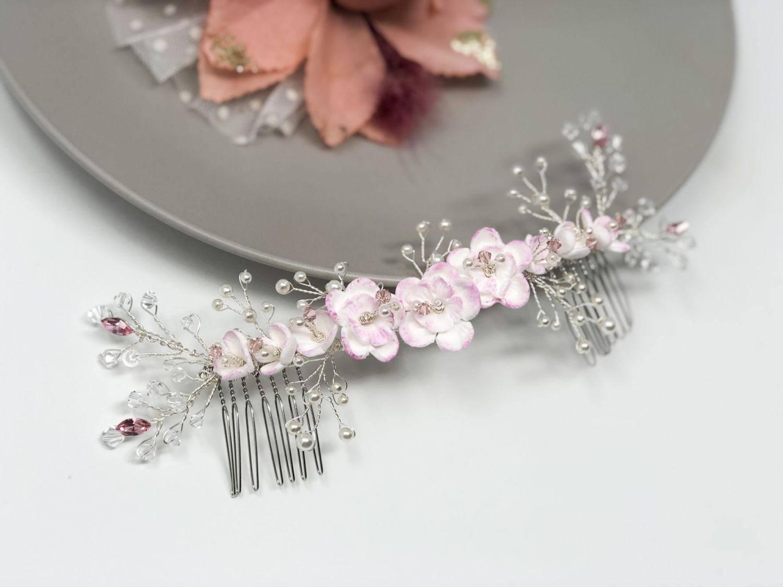 blossom hair piece