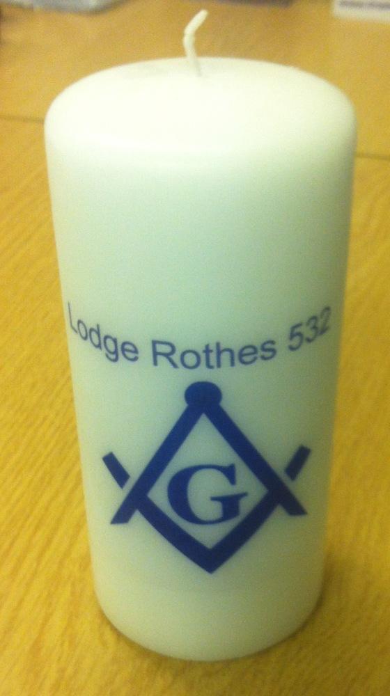 Masonic candles