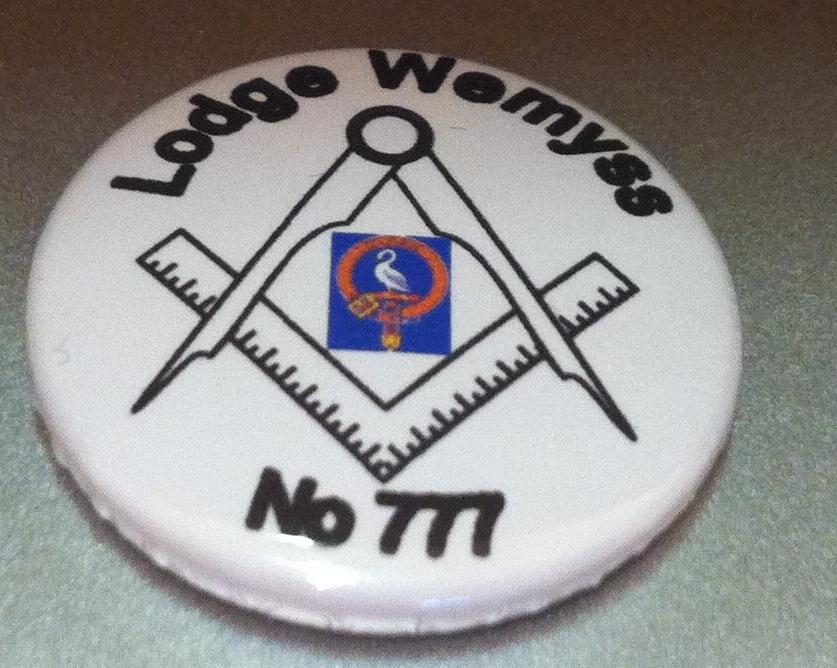 custom made 25mm pin badge