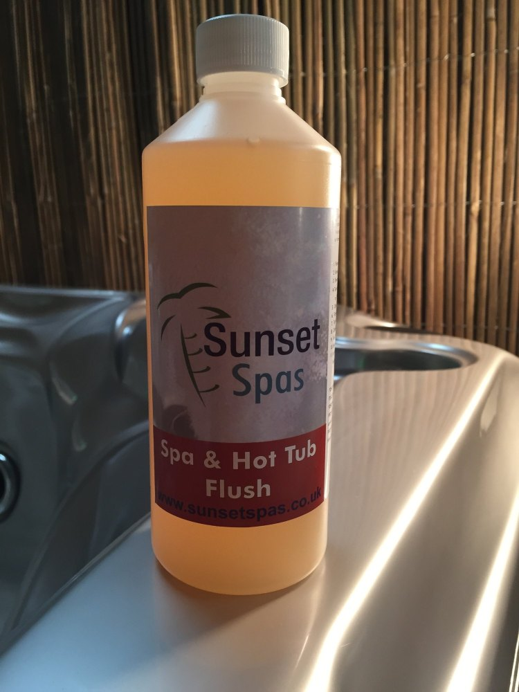 Sunset Spas | 1 Litre Spa Flush | Maintenance | Hot Tubs Spas Pool ...