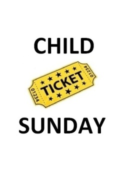 CHILD SUNDAY ONLY