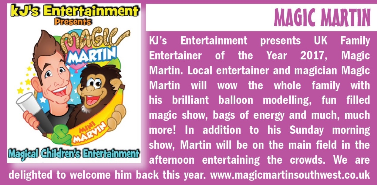2017 Magic Martin website