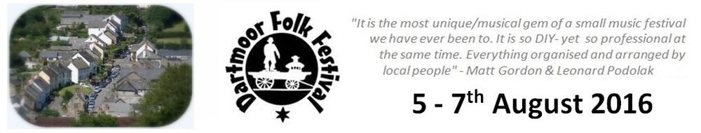 Dartmoor Folk Festival, site logo.
