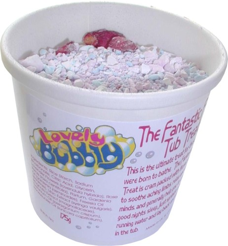 Fantastic Flowery Tub Treat