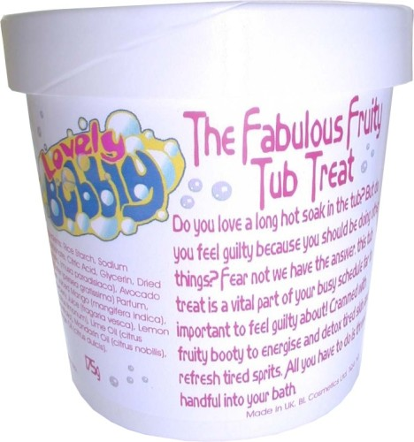 Fabulous Fruity Tub Treat