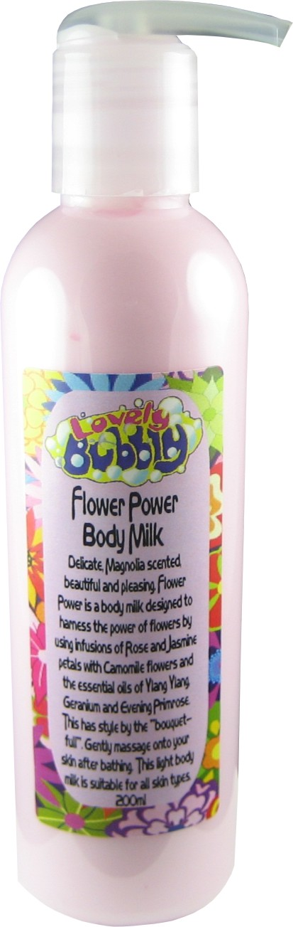 Flower Power Body Milk