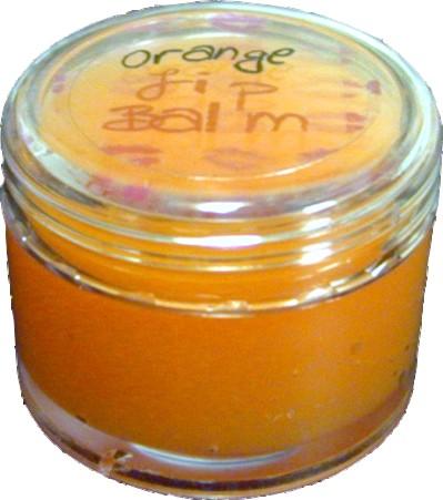 Orange Lip Balm 10g
